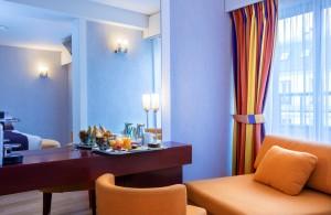 hôtel Ampère - chambre d'hôtel sans moquette à Paris