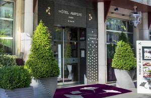 Venez découvrir notre hôtel avec bornes de recharge électrique à Paris